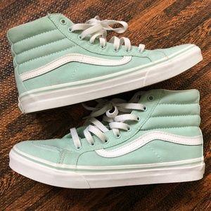 VANS Sk8 Mint Green Shoes